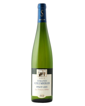 bottle of Domaines Schlumberger Les Princes Abbes Pinot Gris - Uncork Mexico