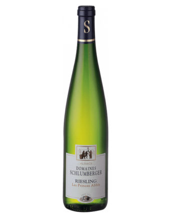 bottle of Domaines Schlumberger Les Princes Abbes Riesling