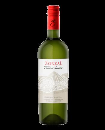 bottle of Zorzal Terroir Unico Sauvignon Blanc - Uncork Mexico