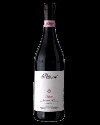 bottle of Pelissero Barbaresco Nubiola DOCG 2013