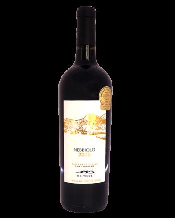 bottle of MD Vinos Nebbiolo