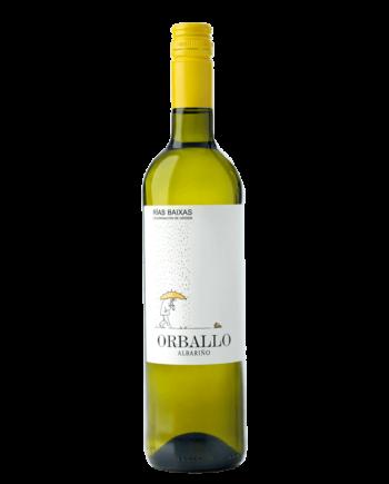 bottle of Orballo Albariño Rias Baixas