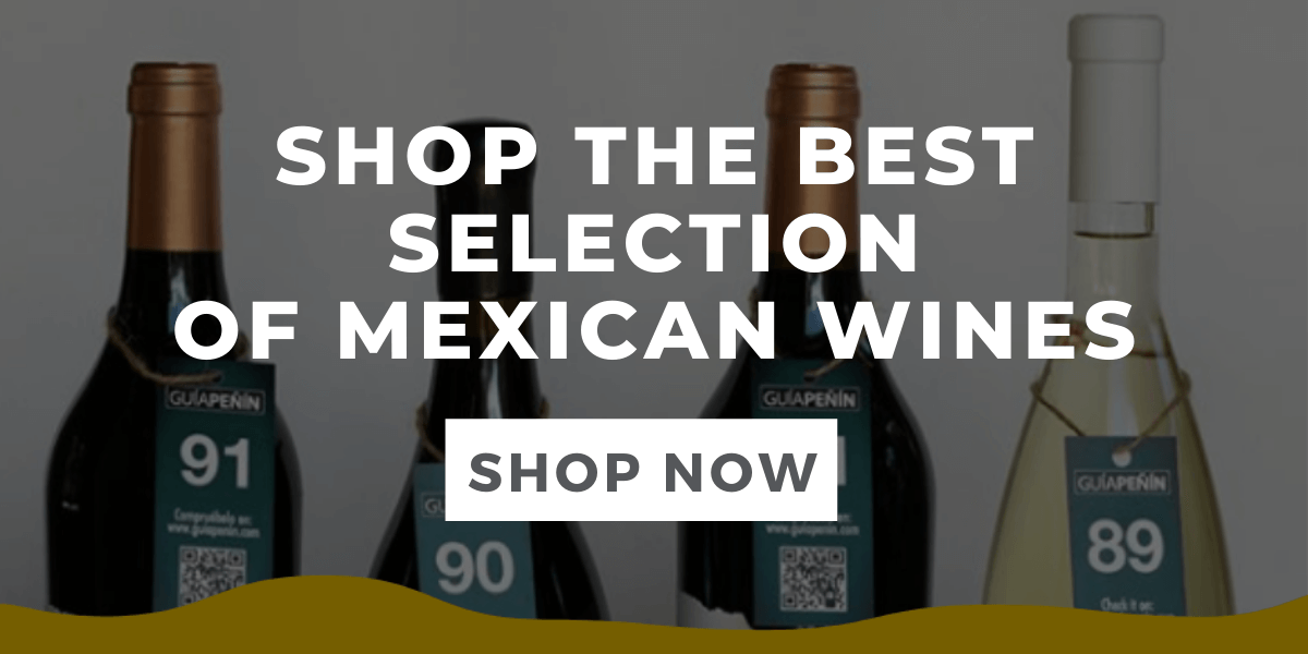 mexican wines selection